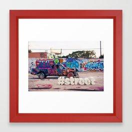 #Street Framed Art Print
