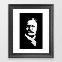 Teddy Roosevelt Framed Art Print