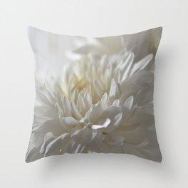 Chrysanthemum Textures Throw Pillow