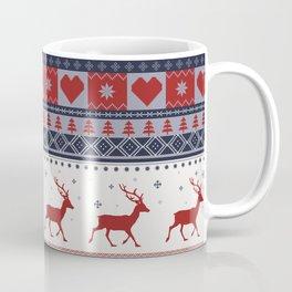Scandinavian Christmas Pattern Coffee Mug