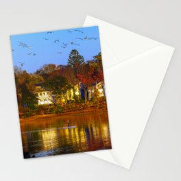 Fall Reflections (3) Stationery Cards