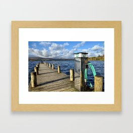 Windermere Jetty Framed Art Print