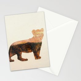 Little Ones: Lion Stationery Cards