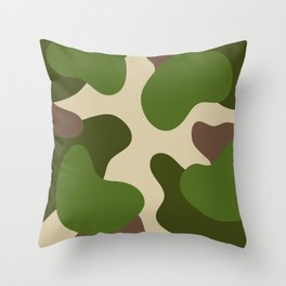 Camouflage Pattern (Camo) Throw Pillow