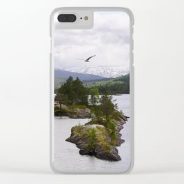 The wilderness Clear iPhone Case