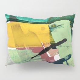 Hopeful[3] - a bright mixed media abstract piece Pillow Sham