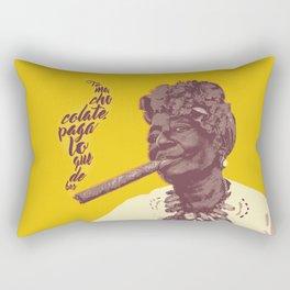 Toma chocolate Rectangular Pillow