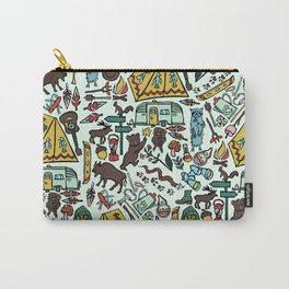 Whimsical Wilderness Carry-All Pouch
