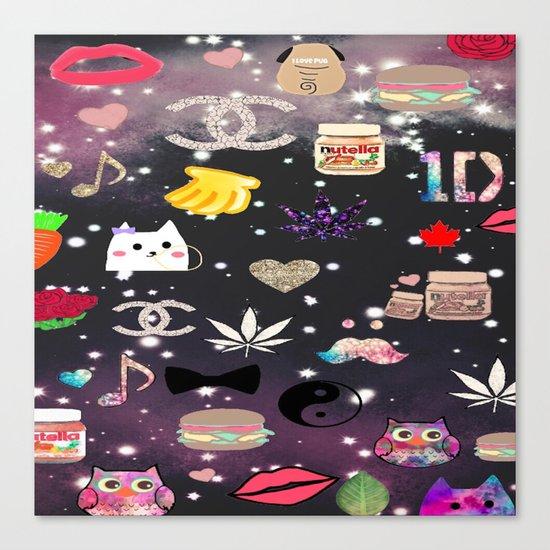love it-325 Canvas Print