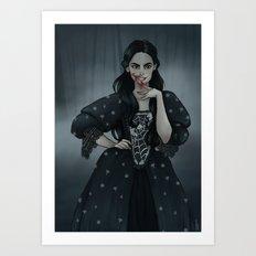 Witch Art Print