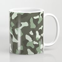 camo Mugs featuring CAMO by Brukk