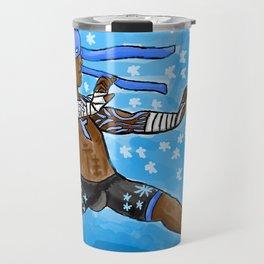Fab Fighter Blizzard Fist Travel Mug