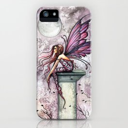 The Lookout Fairy Fantasy Art by Molly Harrison iPhone Case