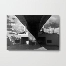 Istanbul bridge Metal Print