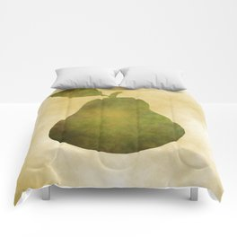 Portrait Of A Pear Comforters