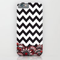 Floral Chevron. iPhone 6s Slim Case