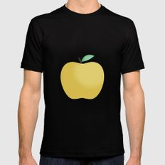Apple 22 Black Mens Fitted Tee MEDIUM