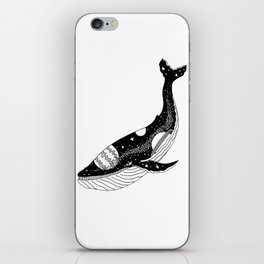 Space Whale iPhone Skin