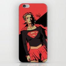 Girl of Steel iPhone & iPod Skin