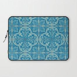 Azulejos azules Laptop Sleeve