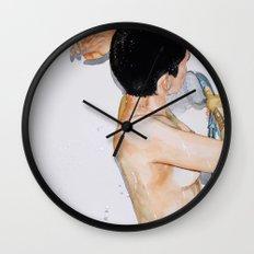 Cuarencha Ducha Wall Clock