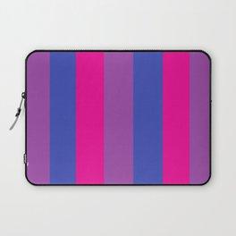 Bisexual Flag vertical Laptop Sleeve
