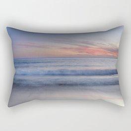 """""""Magical waves at sunset"""" Rectangular Pillow"""