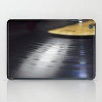vinyl iPad Cases featuring Vinyl by Karl Turner