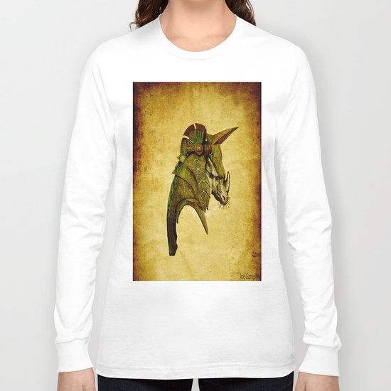 The rhinoceros in armor Long Sleeve T-shirt