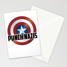 Punch Nazis Stationery Cards