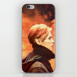 BOWIE - LOW iPhone Skin