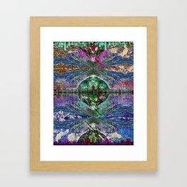 NO MAN IS AN ISLAND Framed Art Print