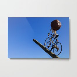Sydney Scuptures By The Sea Metal Print