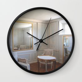 Through a glass Wall Clock
