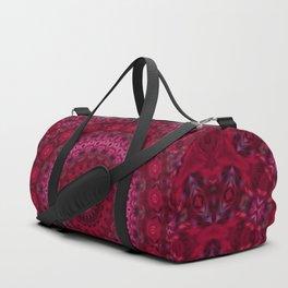 Pink crimson kaleidoscope Duffle Bag