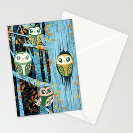 Overnight Owl Conference Stationery Cards