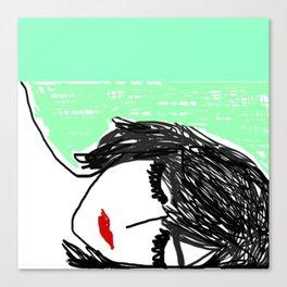Watch You Sleep Canvas Print