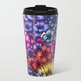 A Field of Flowers Travel Mug
