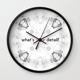 Detailed architectural node_1 Wall Clock