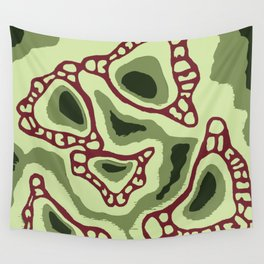 Pitcher Plant Pattern 3 Wall Tapestry