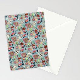 Peranakan tea party Stationery Cards