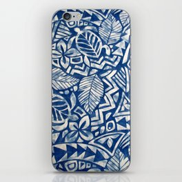 Hawaiian tribal pattern iPhone Skin
