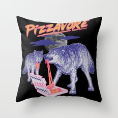 Pizzavore Throw Pillow