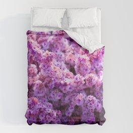 Rest Stop Flowers ~ Salt Flats, Utah Comforters