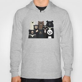 Bear family portrait Hoody