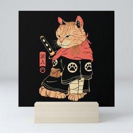 Neko Ronin Mini Art Print