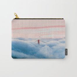 Golden Gate Bridge Above the Clouds Carry-All Pouch