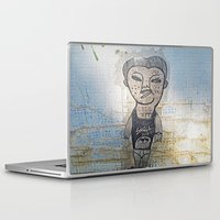 potato Laptop & iPad Skins featuring Small Potato  by Ethna Gillespie