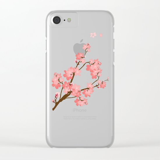 Cherry Clear iPhone Case