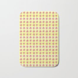 Circle and abstraction-abstraction,abstract,geometric,geometrical,pattern,circle,sphere Bath Mat